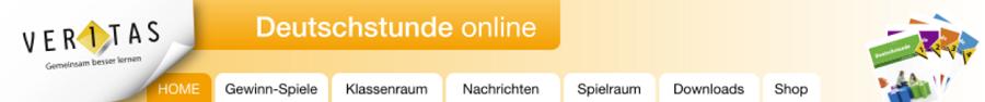 Banner Deutschstunde online